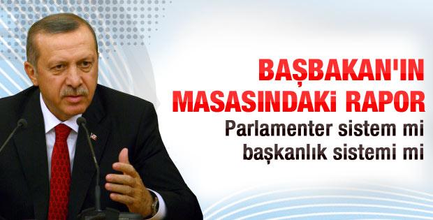 AK Partili Bal'dan Erdoğan'a Başkanlık Sistemi raporu