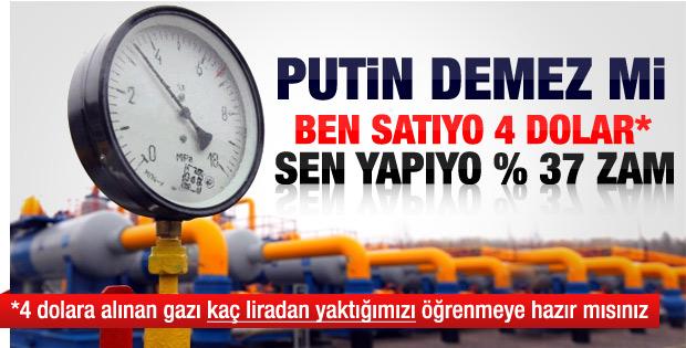 BOTAŞ doğalgaza yüzde 37 zam yaptı