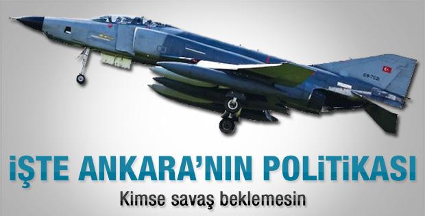 Türkiye'nin planı: Savaş yok ama cezasız kalmaz
