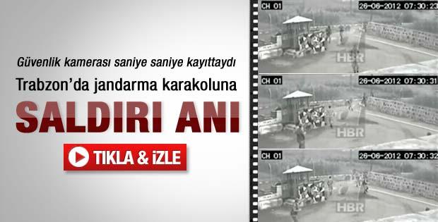 Trabzon'da saldırı anı-izleyin