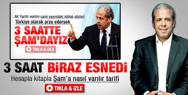 Şamil Tayyar: Akşam çayını Şam'da içebiliriz
