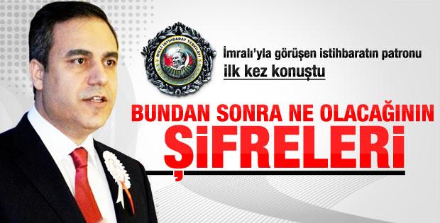 Öcalan'la İmralı'da görüşen MİT Müsteşarı Fidan konuştu