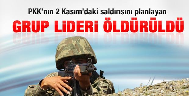Diyarbakır'da PKK'nın grup lideri öldürüldü