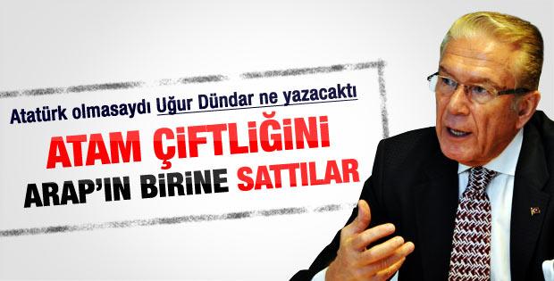 Uğur Dündar yine Atatürk'ü yazdı