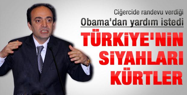 Baydemir Obama'dan yardım istedi