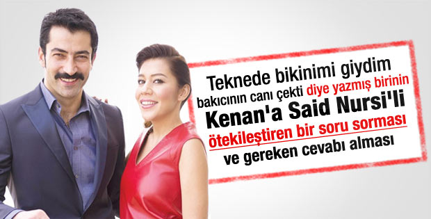 Kenan İmirzalıoğlu: Said Nursi'yi oynayabilirim