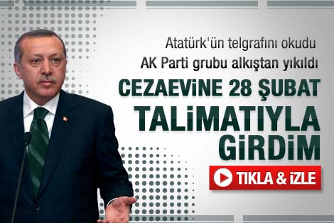 Başbakan Erdoğan'ın son parti grubu konuşması