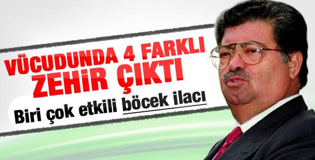 Turgut Özal'ın otopsisinde 4 zehir birden çıktı