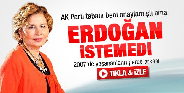 Ilıcak: 2007'de Erdoğan beni istemedi - Video