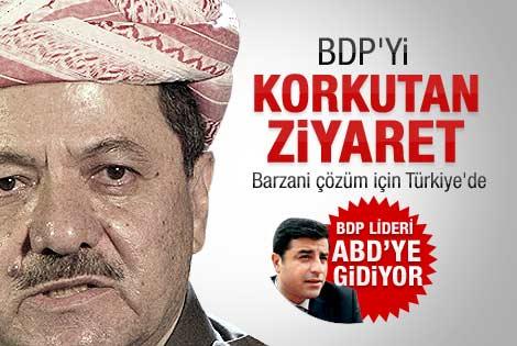 BDP'yi korkutan Barzani ziyareti