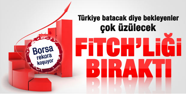 Fitch Türkiye'nin kredi notunu yükseltti