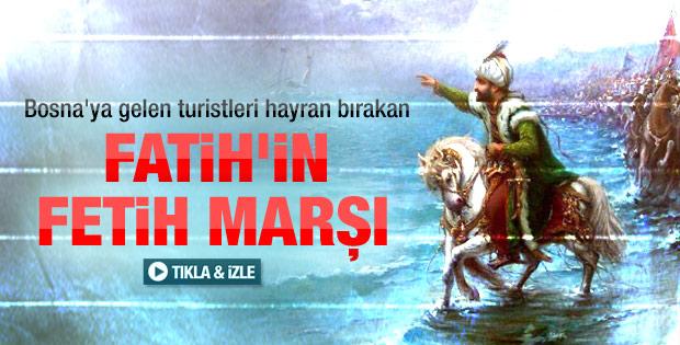 Fatih'in Bosna'nın fethinde söylediği marş