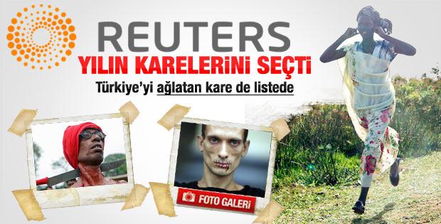 Türkiye'yi ağlatan kare de Reuters 2012 listesinde