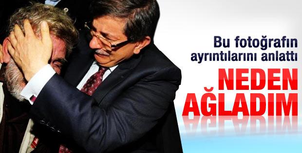 Ahmet Davutoğlu neden ağladığını anlattı