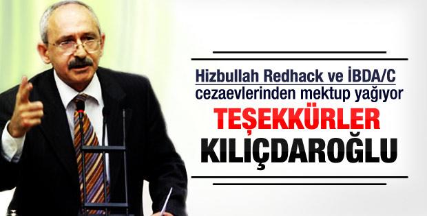 Mahkumlardan CHP'ye teşekkür