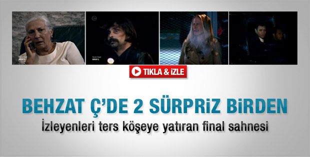 Behzat Ç'den sürpriz final - Video