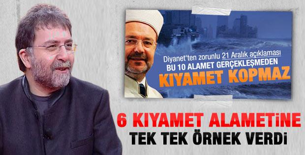 Ahmet Hakan'ın 6 kıyamet alameti