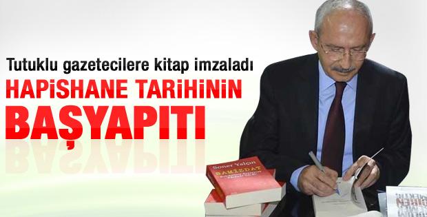 Kılıçdaroğlu: Bu kitap hapishane tarihinin başyapıtıdır