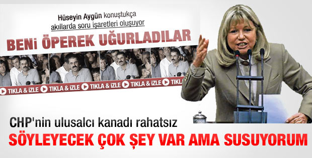 Nur Serter'den Aygün'ün açıklamalarına ilk yorum