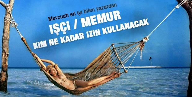 Tatil planı yapan işçi ve memurların yasal hakları