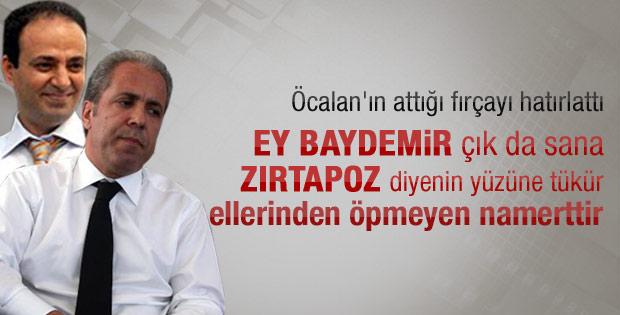 Tayyar'dan Baydemir'e Öcalan'lı sert gönderme
