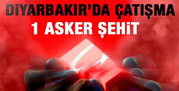 Diyarbakır'da çatışma: PKK'lılar üs bölgesine saldırdı