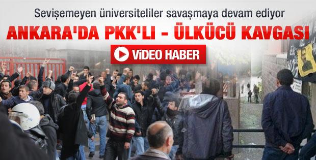 Ankara Üniversitesi karıştı eğitime ara verildi