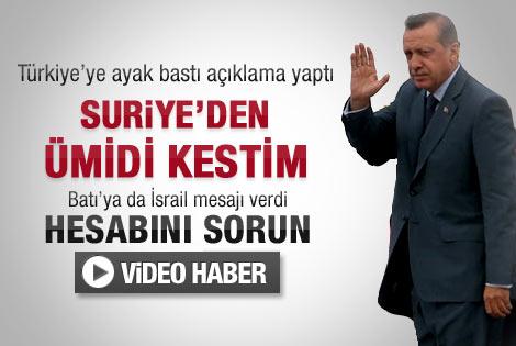 Başbakan'dan basın açıklaması - Video