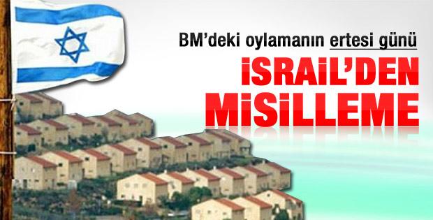 BM'deki Filistin oylamasına İsrail'den misilleme