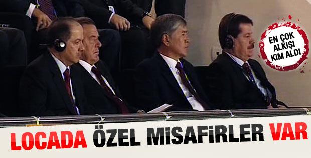 AK Parti kongresine katılan yabancı liderler