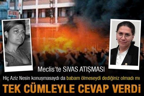 Altıok ve AK Partili Eronat'ın Sivas atışması