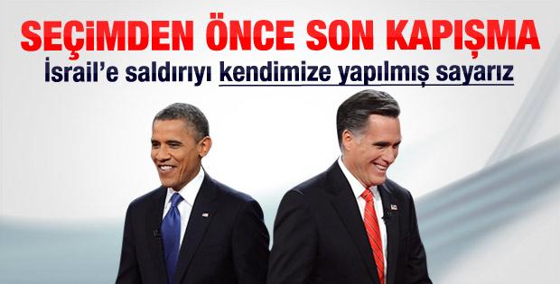 Obama ile Romney'in son kapışması