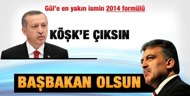 Özhaseki: Erdoğan Cumhurbaşkanı Gül Başbakan olsun