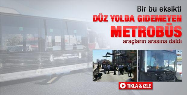 İstanbul'da metrobüs faciası