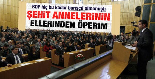 BDP'li Demirtaş'ın son grup konuşması