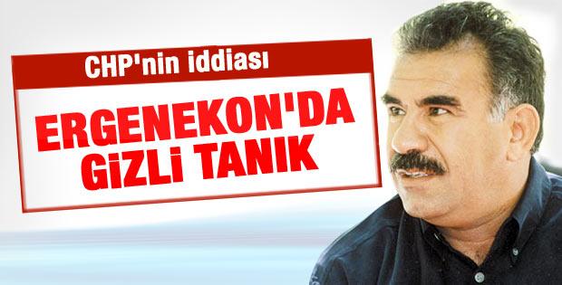 CHP'li Tezcan: Öcalan Ergenekon'un gizli tanığı