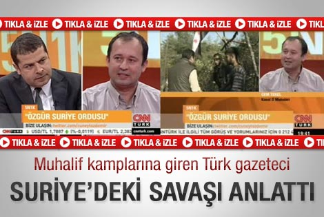 Kanal D muhabiri muhalif kamplarını anlattı - Video