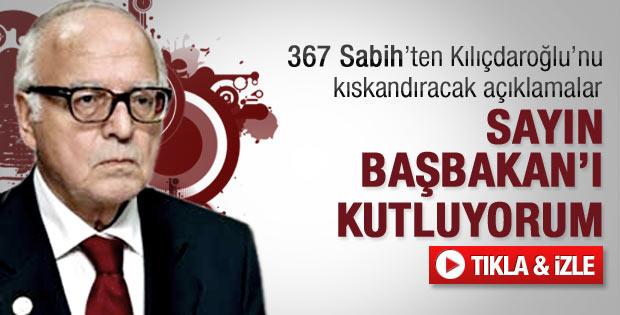 Kanadoğlu'ndan Başbakan Erdoğan'a övgü - Video
