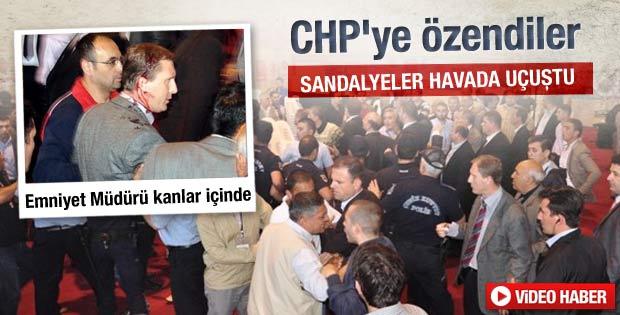 MHP il kongresinde kan aktı