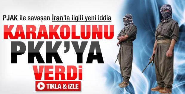 İran PKK'ya karakol verdi iddiası - Video