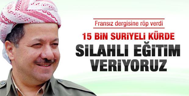 Barzani Fransız dergisine röportaj verdi