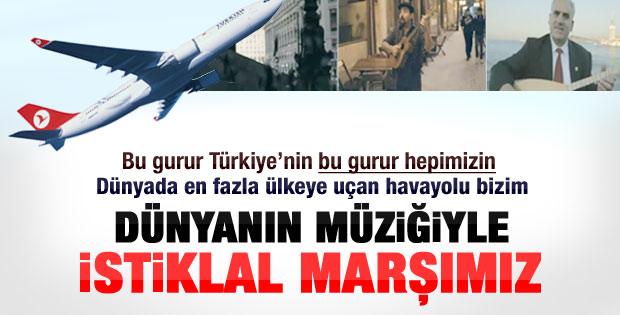 İstiklal Marşı'na THY yorumu-Video