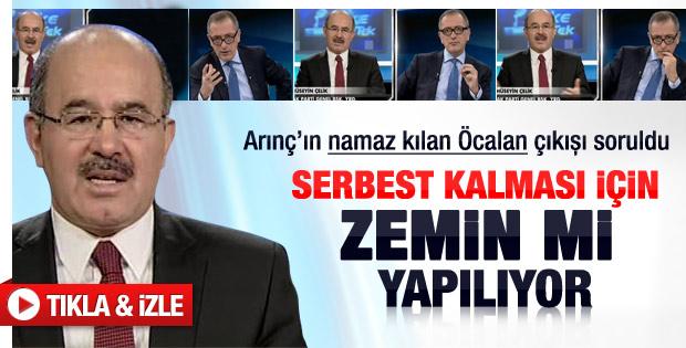 Hüseyin Çelik'e Öcalan sorusu - Video