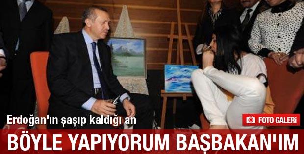 Erdoğan'ın şaşıp kaldığı an