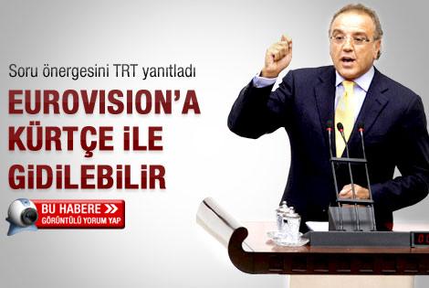 Eurovision'a Kürtçe şarkı katılabilir