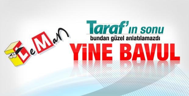 Leman'nın kapağında Taraf ve Ahmet Altan var