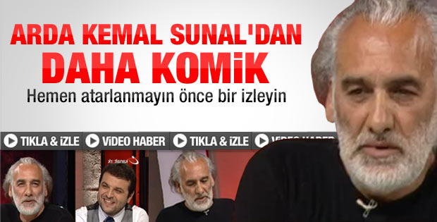 Sinan Çetin: Arda Kemal Sunal'dan komik