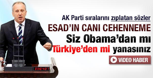 CHP'li Muharrem İnce'nin tezkere konuşması