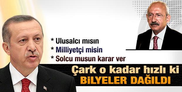 Başbakan'dan CHP ve Kılıçdaroğlu'na sert sözler