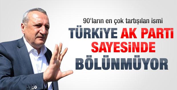 Mehmet Ağar: Türkiye AK Parti sayesinde bölünmüyor